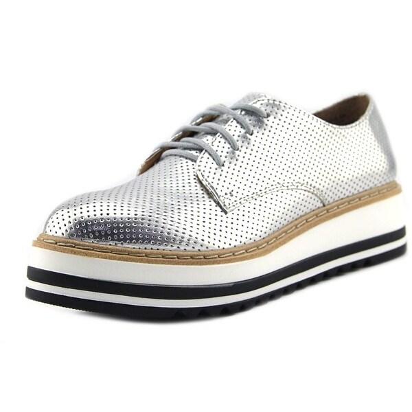 28e5d0757ef Shop Steve Madden Vassar Women Synthetic Silver Fashion Sneakers ...