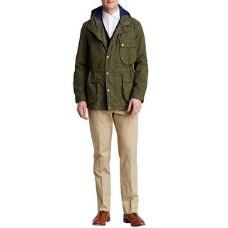 Man 1924 By Carlos Castillo Military Olive Hoodie Sport Jacket X-Large