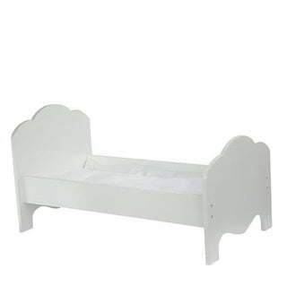 Corp Little Princess Doll Furniture - Classic Single Bed, 18 in.
