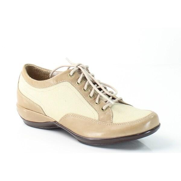 Aetrex NEW Beige Lauren Size 5M Lace Oxfords Leather Shoes