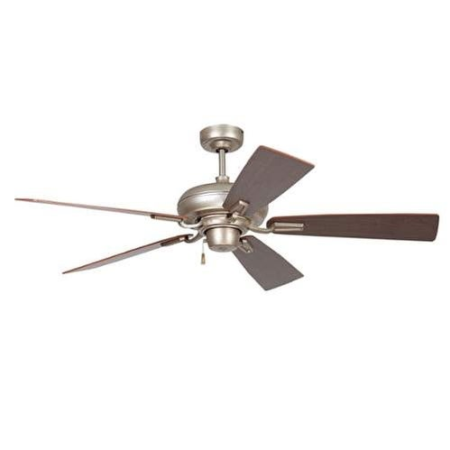"Ellington Fans BLV54 Boulevard 54"" 5 Blade Hanging Indoor Ceiling Fan with Reversible Motor, Blades and Down Rod"