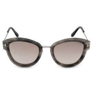 Link to Tom Ford Mia Round Sunglasses FT0574 55G 52 - 52mm x 22mm x 140mm Similar Items in Women's Sunglasses