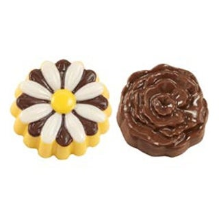 Daisy & Rose 6 Cavity (2 Designs) - Cookie & Candy Mold