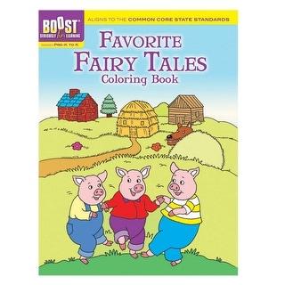 Boost Favorite Fairy Tales Coloring Book Gr Pk-K
