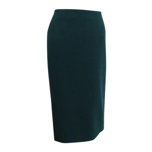 Kasper Women's Skimmer Skirt - Fir Green