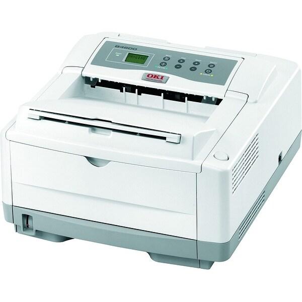 Okidata - B4600n Black - Mono - Led - Single Function - Printer - Network - 27 Ppm - A4/Le