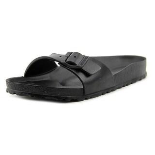 Birkenstock Madrid Eva Women Open Toe Synthetic Black Slides Sandal