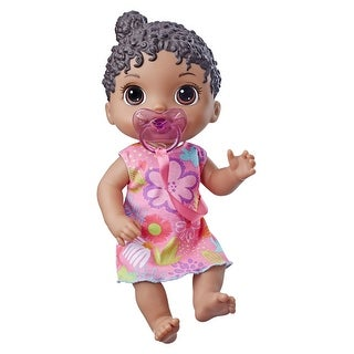 Link to Baby Alive Baby Lil Sounds: Interactive Black Hair Baby Doll For Girls And Boys Ages 3 And Up, Makes 10 Sound Effects, Similar Items in Dolls & Dollhouses