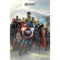 GB Eye XPE160140 Avengers Airbase Poster Print, 24 x 36