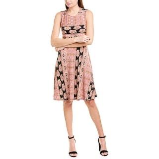 Bcbgmaxazria Printed A-Line Dress