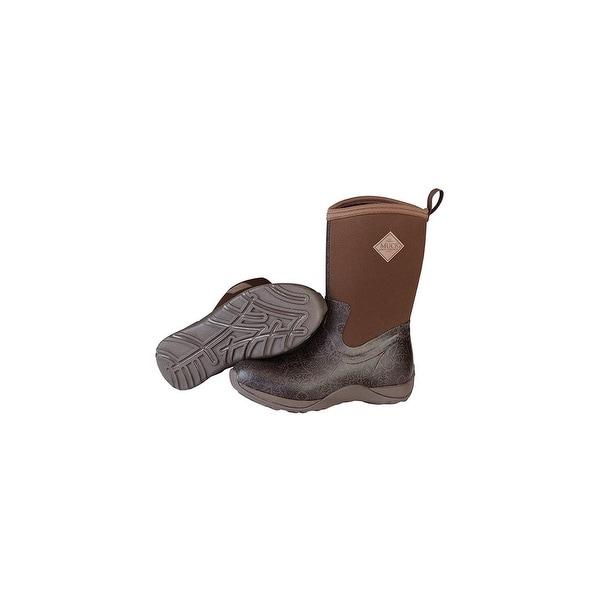 Muck Boot's Women's Arctic Weekend Brown Boots w/ Fleece Liner - Size 11