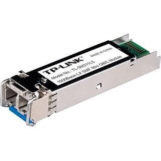 Tp-Link Tl-Sm311ls Gigabit Sfp Module, Single-Mode, Minigbic, Lc Interface