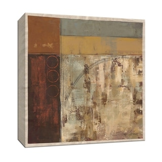 """PTM Images 9-153089  PTM Canvas Collection 12"""" x 12"""" - """"Railroad I"""" Giclee Abstract Art Print on Canvas"""