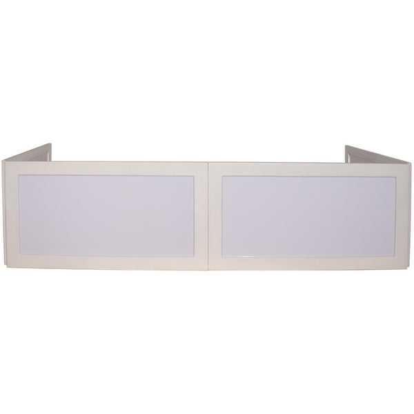 Seismic Audio - Table Top DJ Facade or DJ Booth - 16 Inch Frontboards