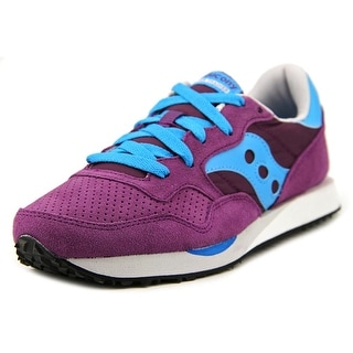 Saucony Dxn Trainer Women Round Toe Canvas Purple Sneakers