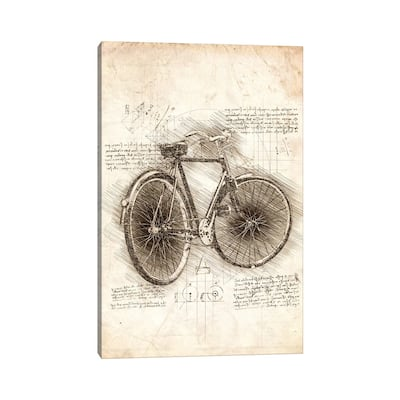 "iCanvas ""Old Bicycle"" by Cornel Vlad Canvas Print"