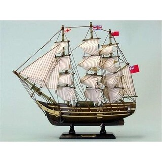 Master And Commander HMS Surprise 14 in. Decorative Tall Model Ship