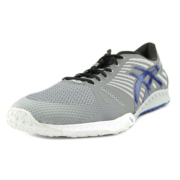 Asics fuzeX TR Men Round Toe Synthetic Gray Cross Training
