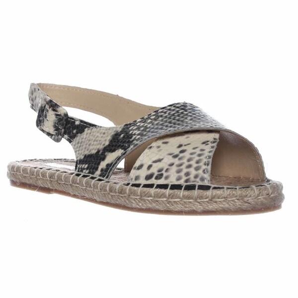 Pour La Victoire Olivia Espadrille Slingback Sandals, Natural