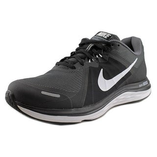 Nike Dual Fusion X2 Round Toe Canvas Running Shoe