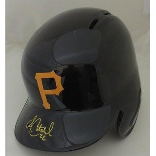 Andrew McCutchen Autographed Pirates Signed Baseball Batting Helmet MLB AUTHENTIC COA 2