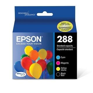 Epson America - T288120-Bcs - Epson288 C M Y K 4Pk Ink Xp430