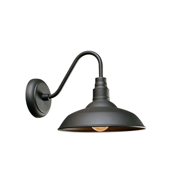 Kenroy Home 93506 Dale 1 Light 9 7 8 Tall Outdoor Wall Sconce With Metal Shade N A Free Shipping On Orders Over 45 19556640