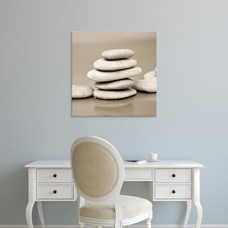 Easy Art Prints PhotoINC Studio's 'Zen Pebbles' Premium Canvas Art