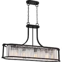 "Nuvo Lighting 60/5775 4 Light 36-3/4"" Wide Linear Chandelier"