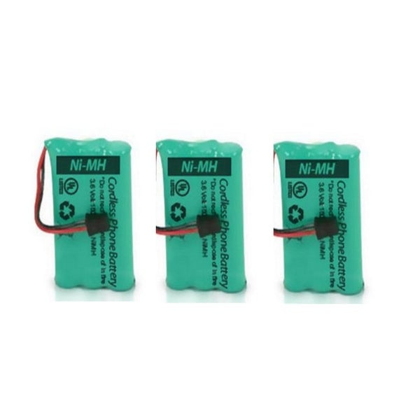 Replacement Battery BT446 (3 Pack) For Uniden And GE/RCA Cordless Phones