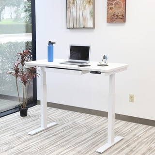 Link to Motionwise Electric White Standing Desk Similar Items in Desks & Computer Tables