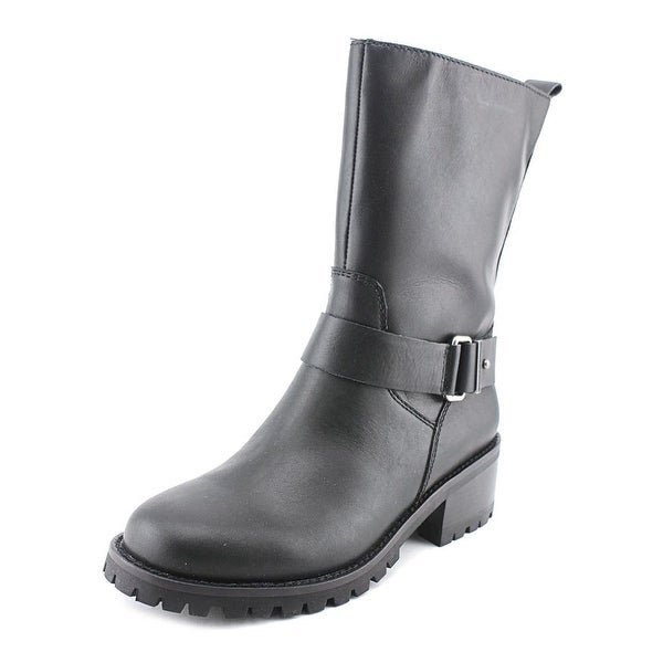 Cole Haan Champlain WP   Round Toe Leather  Mid Calf Boot