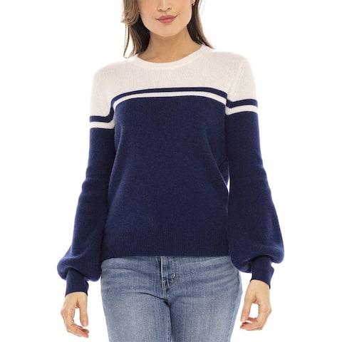 Filoro Brielle Two Tone Cashmere Sweater