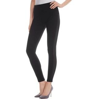 Lysse Leggings Womens Kiara Leggings Leather Trim Hi Waist