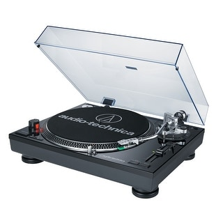 AudioTechnica AT-LP120BK-USB Direct-Drive Professional USB & Analog Turntable