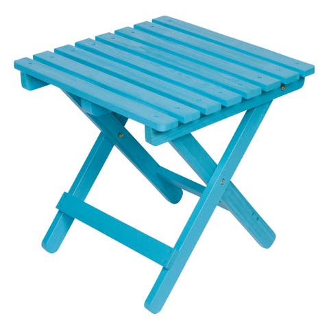 26 inch Square Adirondack Folding Table with HYDRO-TEX finish