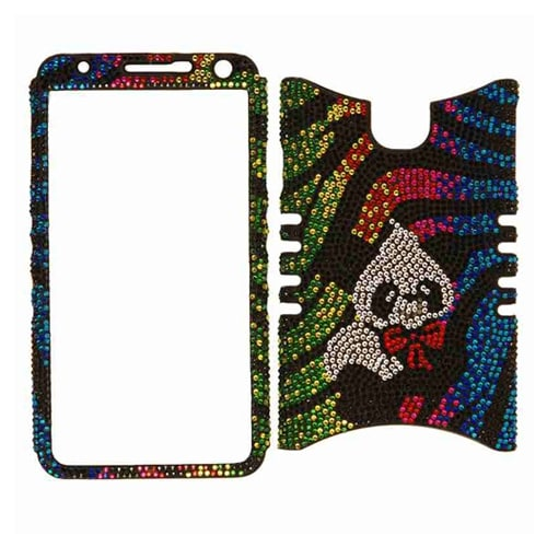 Unlimited Cellular Rocker Snap-On Case for Samsung Galaxy Note 3 (Full Diamond C