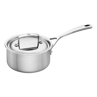 ZWILLING Aurora 5-ply Stainless Steel Saucepan - STAINLESS STEEL