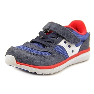 Saucony Jazz Lite W Round Toe Suede Sneakers