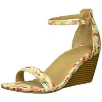 Kenneth Cole Reaction Womens 7 cake icing Open Toe Casual Ankle Strap Sandals - 8.5