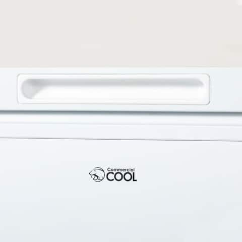 """Commercial Cool Chest Freezer Stand Up 5.4 Cubic Feet, White - 7'10"""" x 10'6"""""""