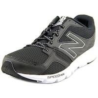 New Balance M490 Men  Round Toe Synthetic Black Running Shoe