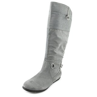 Rampage Babar   Round Toe Canvas  Knee High Boot