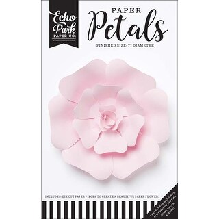 Small Light Pink Rose - Echo Park Paper Petals
