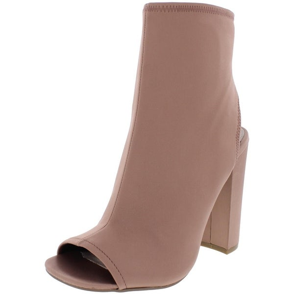 Steve Madden Womens Alta Booties Open Toe Dress