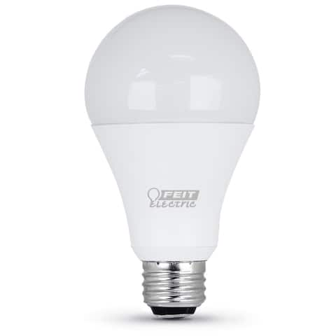 Feit Electric A50/150/LEDG2 Non-Dimmable LED 3-Way Light Bulb, 7 / 15 / 21 Watts