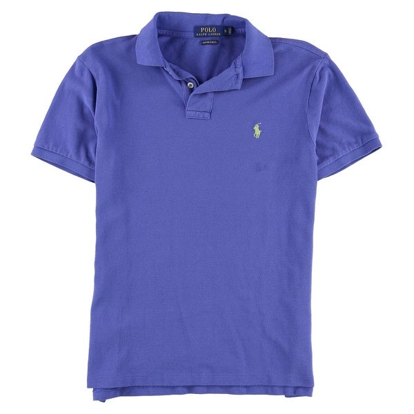 a3393aae1 Shop Polo Ralph Lauren NEW Blue Mens Size XL Polo Custom Slim Fit Shirt - Free  Shipping On Orders Over  45 - Overstock - 21333255