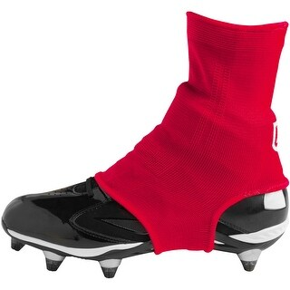 Battle Sports Science Over the Cleat Support System Sleeves - Red