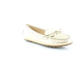 MICHAEL Michael Kors Daisy Moc Women's Flats & Oxfords Pale Gold
