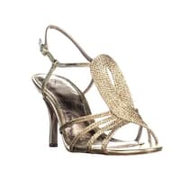 Adrianna Papell Megan Strappy Dress Sandals, Platino - 8 us / 38 eu